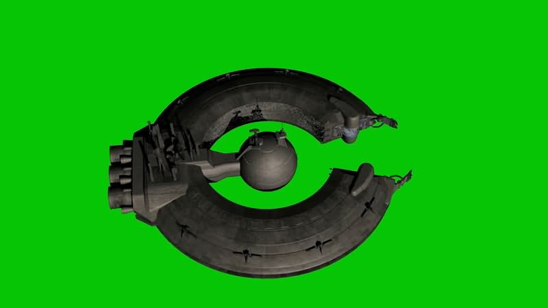 绿屏抠像宇宙中的太空堡垒.jpg