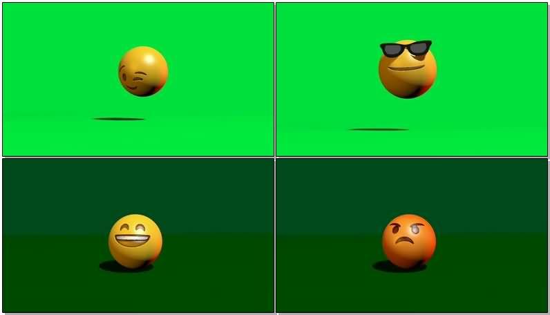 绿屏抠像3D卡通QQ经典表情.jpg