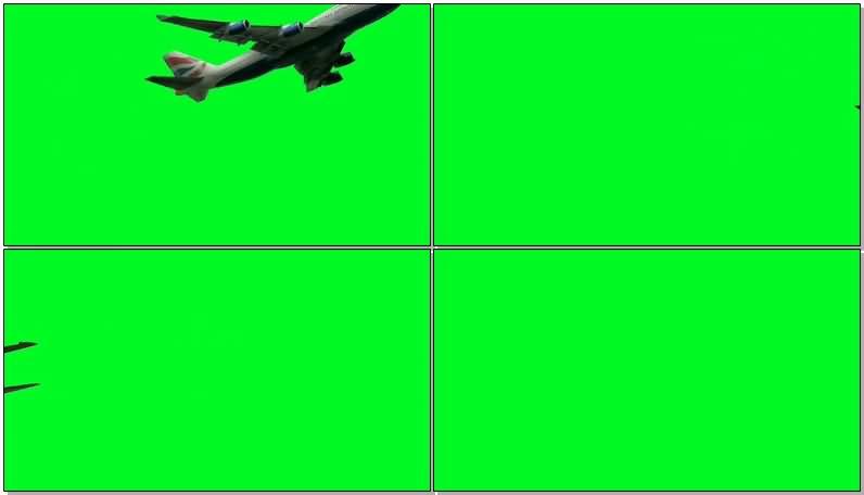 绿屏抠像飞行客机战斗机.jpg
