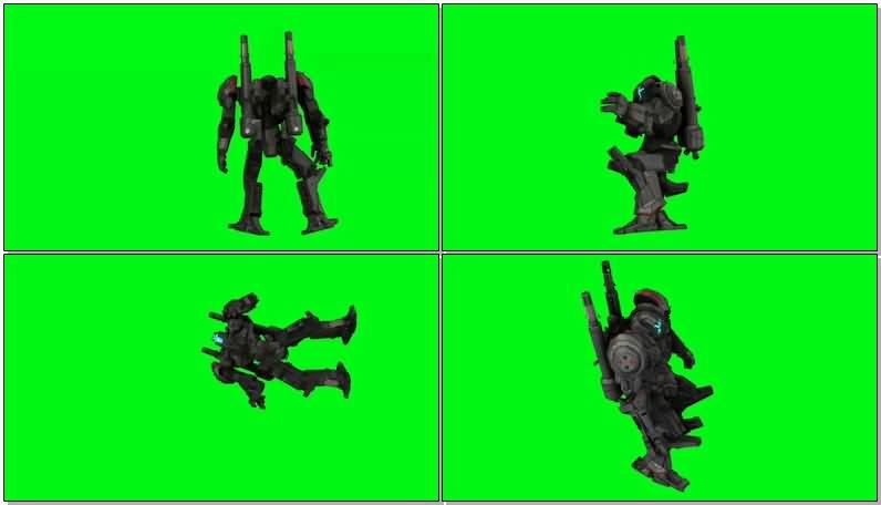 绿屏抠像探戈狼机甲机器人.jpg