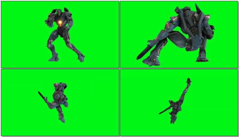 绿屏抠像吉普赛复仇者机甲机器人.jpg