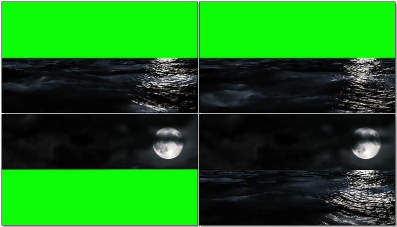 绿屏抠像夜晚深色的海水与月亮.jpg
