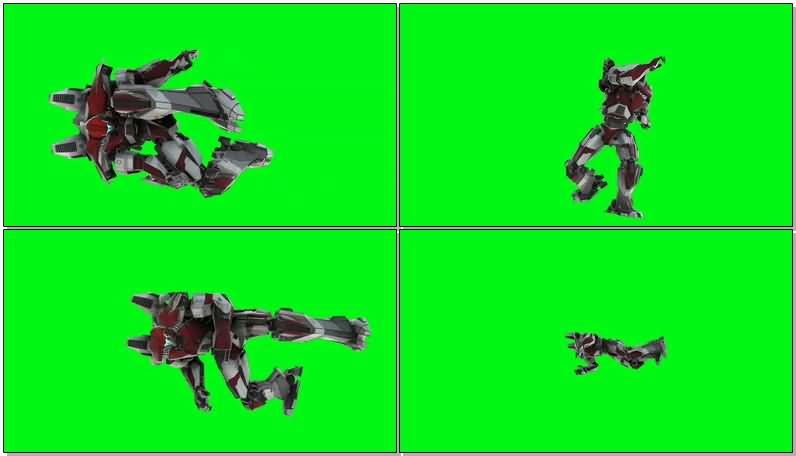 绿屏抠像守护者布拉沃机甲机器人.jpg
