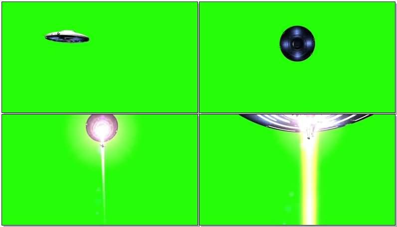 绿屏抠像外星飞碟吸入人类.jpg