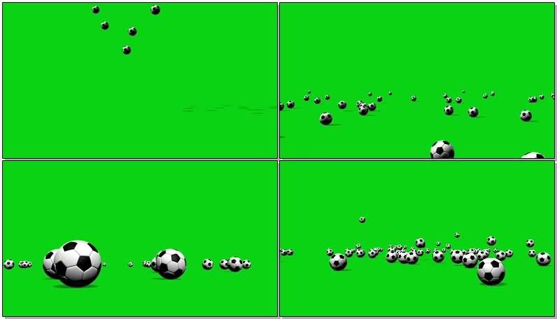 绿屏抠像散落在地上的足球.jpg