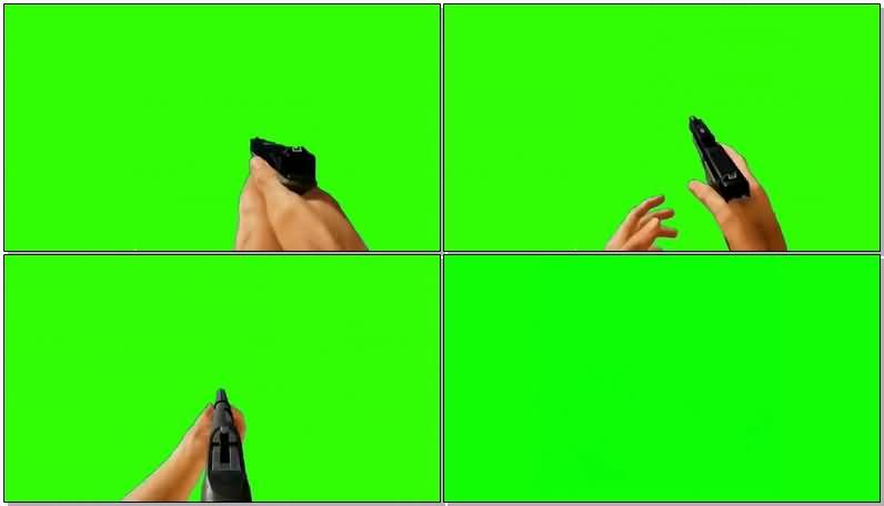 绿屏抠像第一视角各种开枪射击.jpg