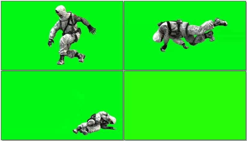 绿屏抠像穿滑雪迷彩服的战士.jpg