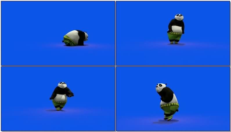 蓝屏抠像跳舞的功夫熊猫.jpg
