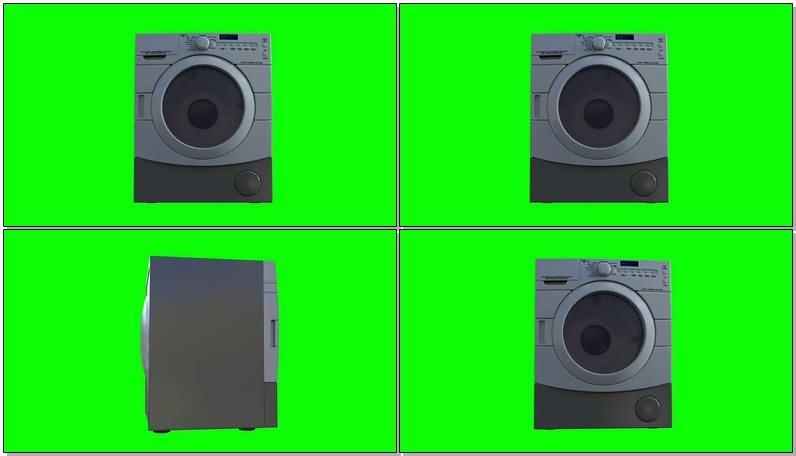 绿屏抠像迷你滚筒小洗衣机.jpg
