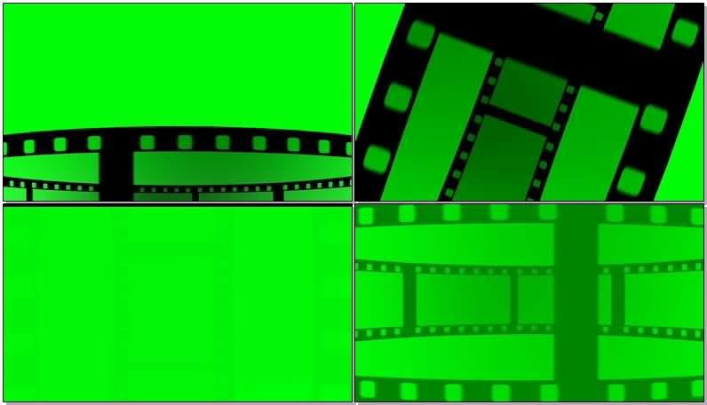 绿屏抠像滚动的电影胶片.jpg