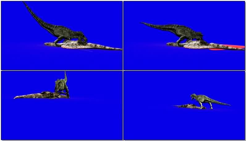 蓝屏抠像吃食的恐龙.jpg
