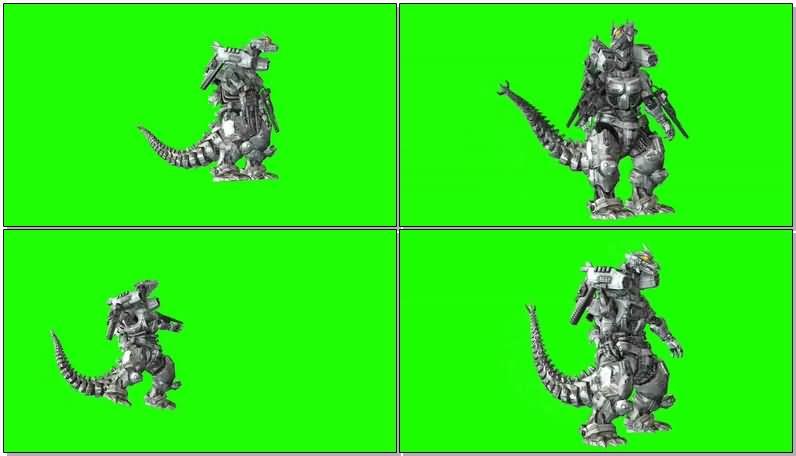 绿屏抠像机械哥斯拉怪兽.jpg