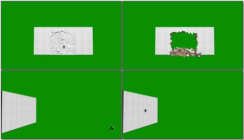 绿屏抠像被足球击碎的白色墙壁.jpg