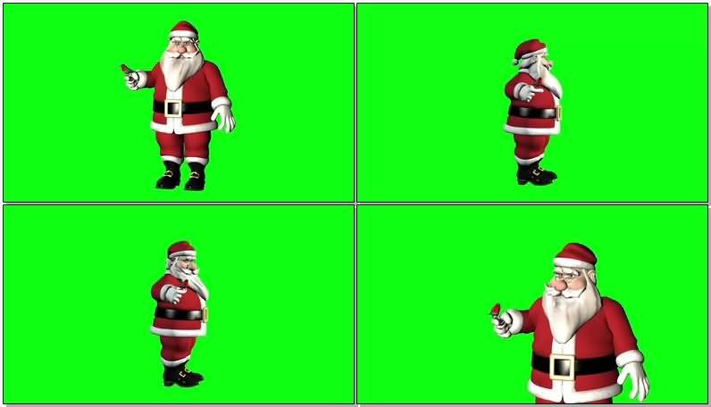 绿屏抠像放飞小鸟的圣诞老人.jpg