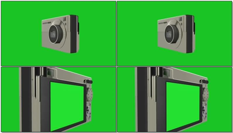 绿屏抠像镜头可伸缩的数码照相机.jpg