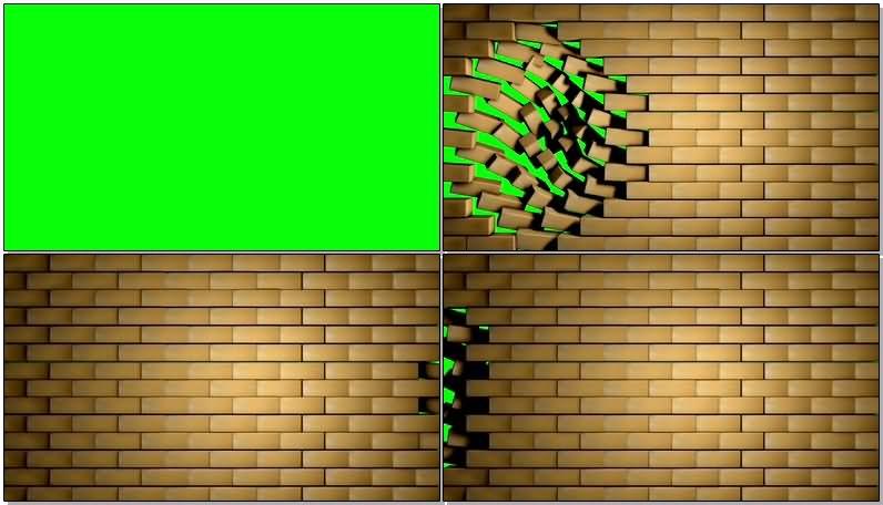 绿屏抠像砖块墙壁.jpg