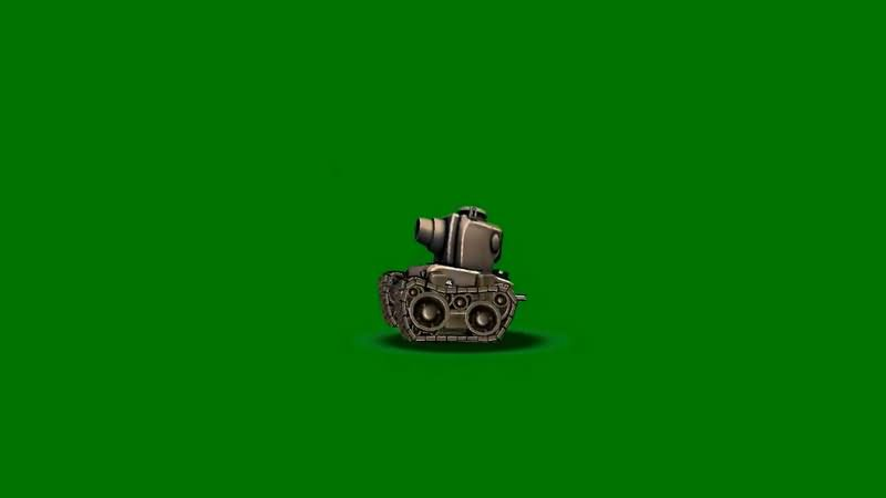绿屏抠像卡通3D坦克1.jpg