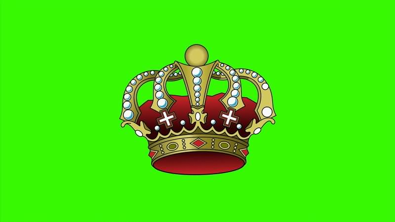 [4K]绿屏抠像卡通皇冠..jpg