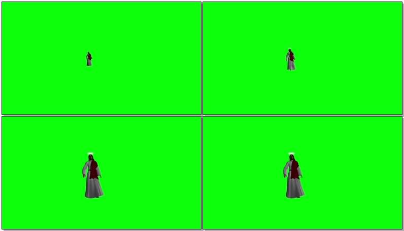 绿屏抠耶稣上帝.jpg