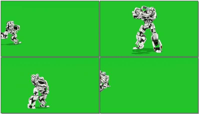 绿屏抠像白色机器人.jpg