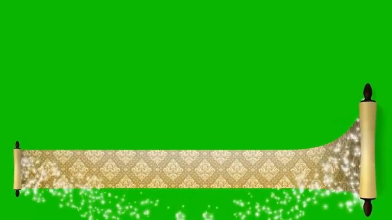 绿屏抠像展开的魔法卷轴.jpg