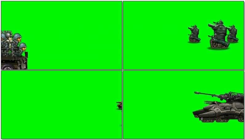 绿屏抠像游戏卡通士兵飞机坦克大炮.jpg