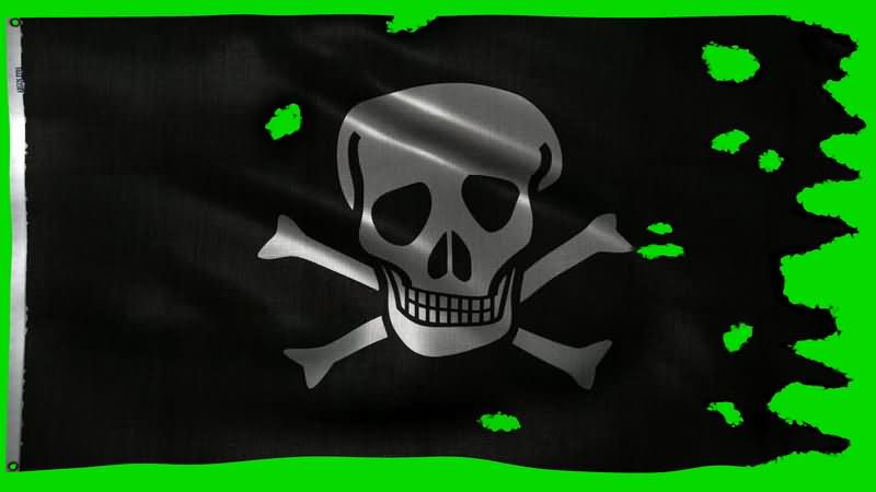 [4K]绿屏抠像飘扬的黑色海盗旗.jpg