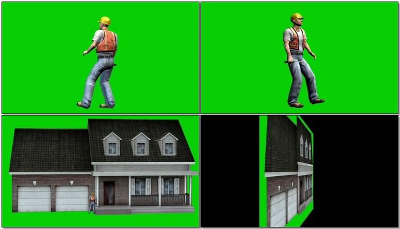 绿屏抠像工作的建筑工人.jpg