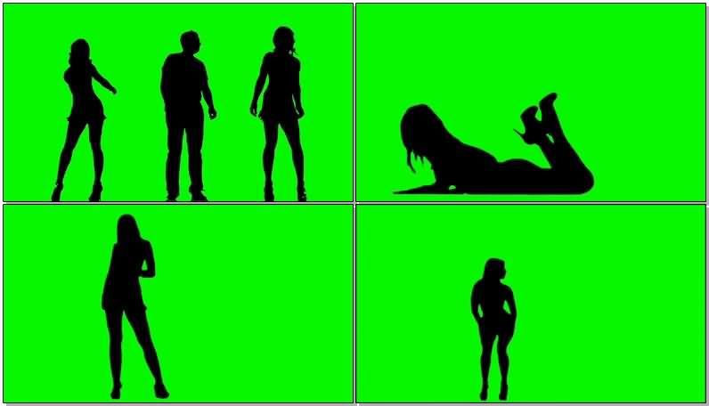绿屏抠像跳舞人群剪影.jpg