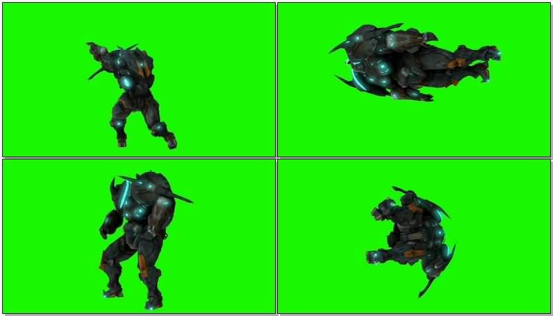 绿屏抠像机甲机器人.jpg