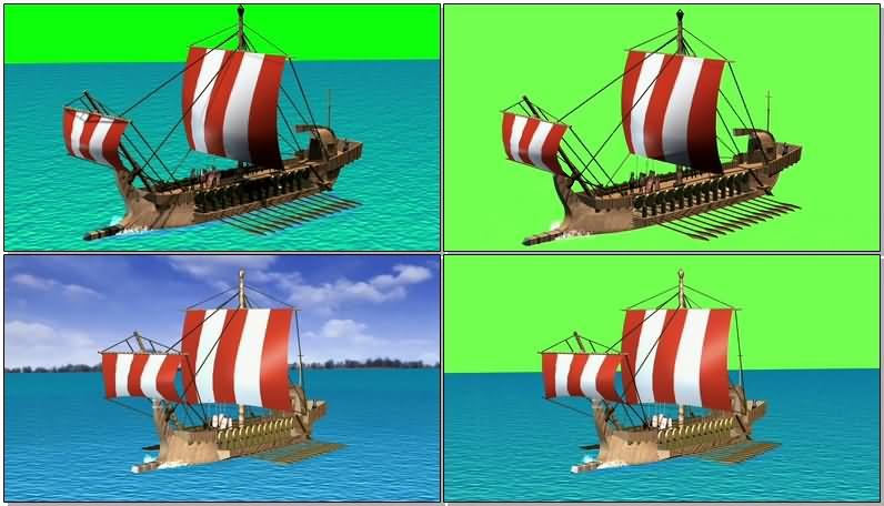 绿屏抠像古希腊木船战舰.jpg