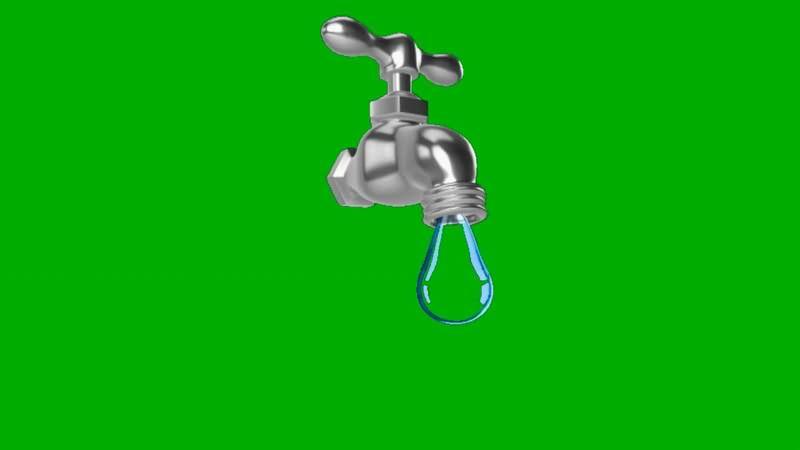 绿屏抠像滴水的水龙头.jpg
