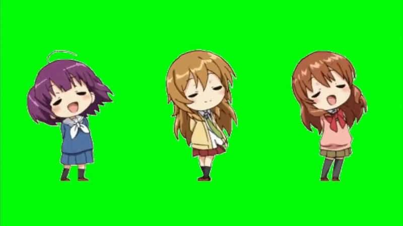 绿屏抠像唱歌的卡通女孩.jpg
