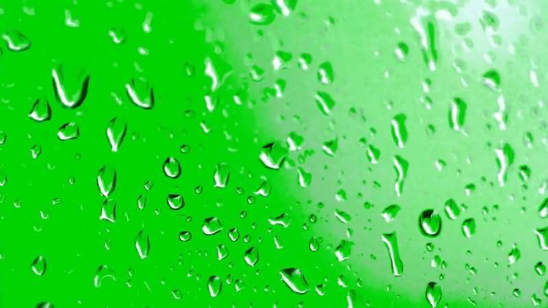 绿屏抠像玻璃上的水珠..jpg