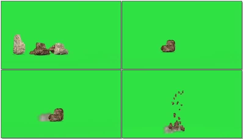 绿屏抠像奇形怪状的石头.jpg