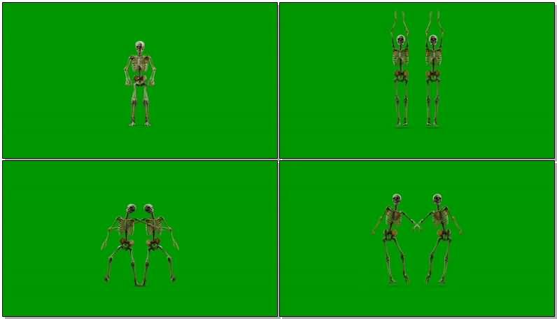 绿屏抠像跳舞的骷髅骨架.jpg