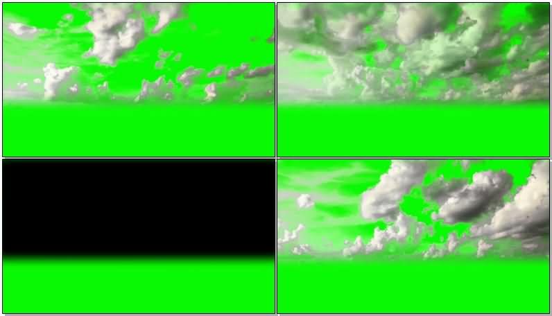 绿屏抠像天空中的白云.jpg