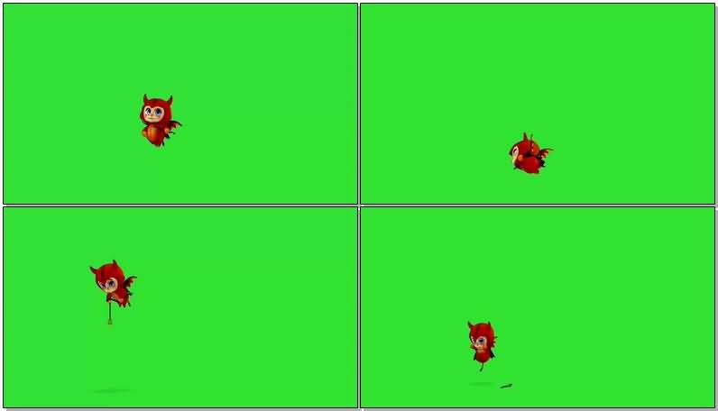 绿屏抠像可爱红色小恶魔.jpg