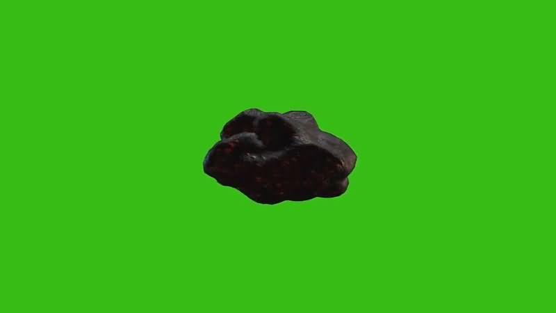 绿屏抠像飞行的陨石小行星.jpg