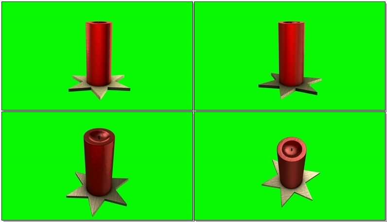 [4K]绿屏抠像红色圣诞蜡烛.jpg