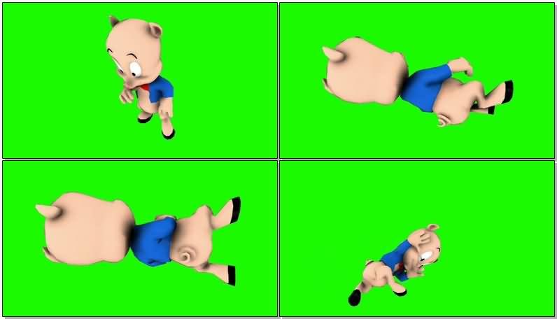 绿屏抠像卡通人物猪小弟.jpg