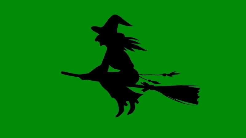 绿屏抠像骑扫帚飞行的女巫.jpg