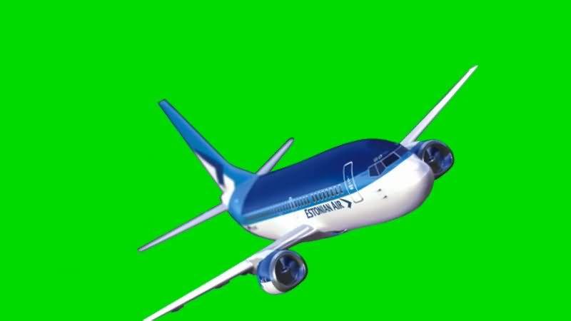 绿屏抠像航空客机..jpg