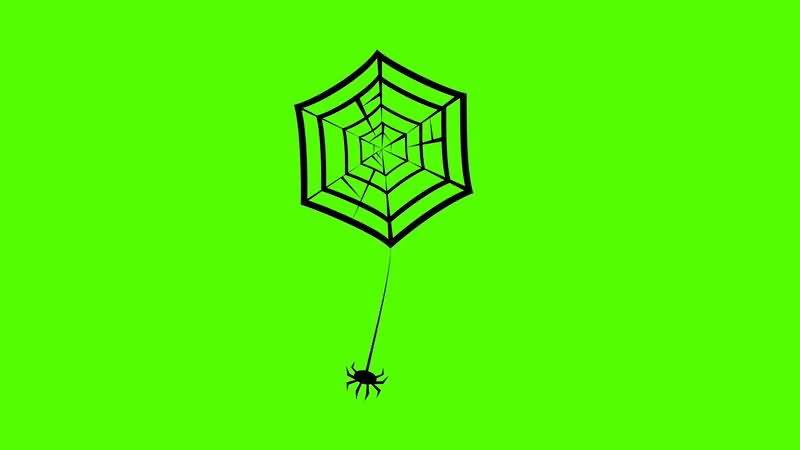 绿屏抠像卡通蜘蛛网.jpg