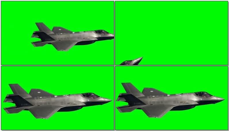 绿屏抠像喷气式战斗机.jpg