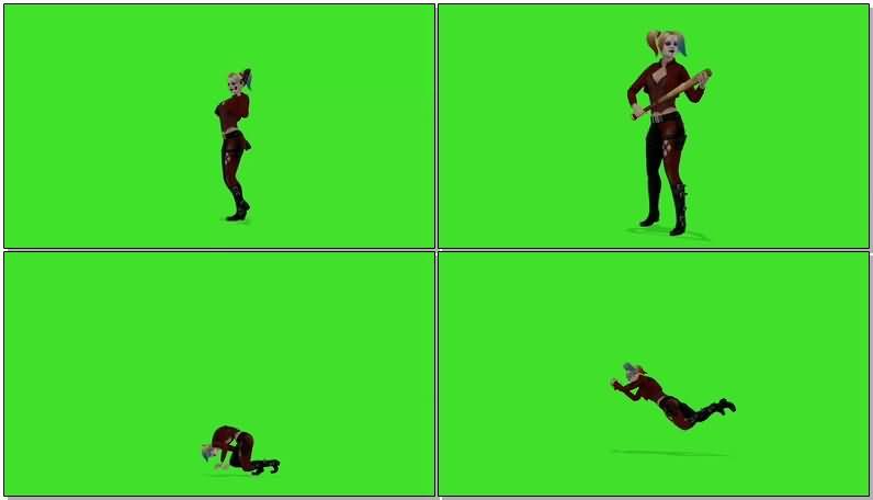 绿屏抠像小丑女.jpg