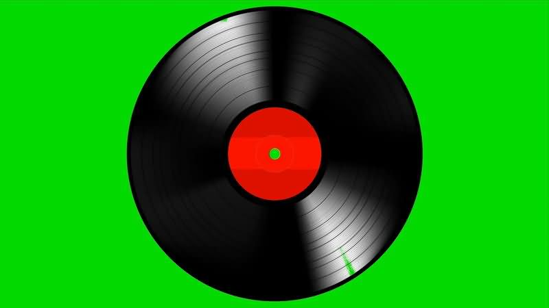 绿屏抠像黑色唱片碟片.jpg
