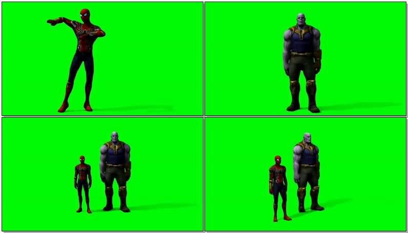 绿屏抠像跳骑马舞的蜘蛛侠和灭霸.jpg