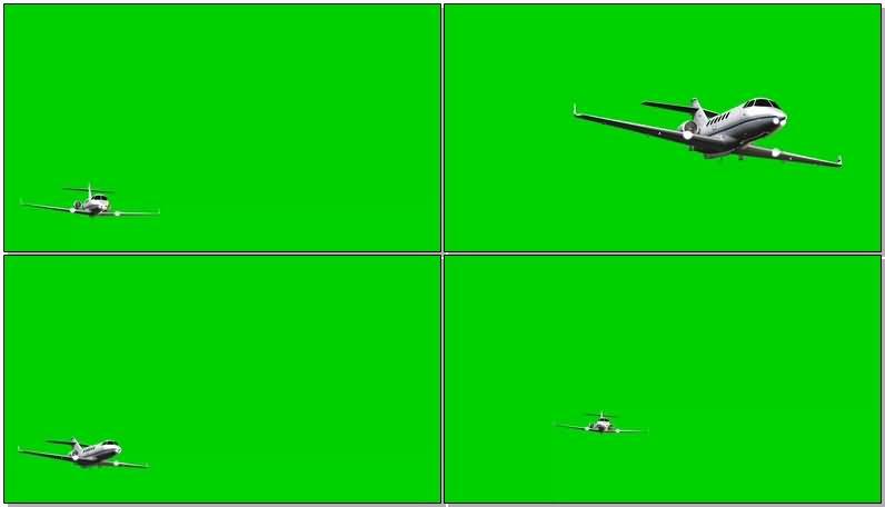 绿屏抠像私人喷气飞机.jpg