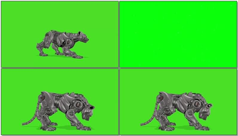 绿屏抠像机器豹.jpg